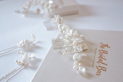 Bridal comb - Flower