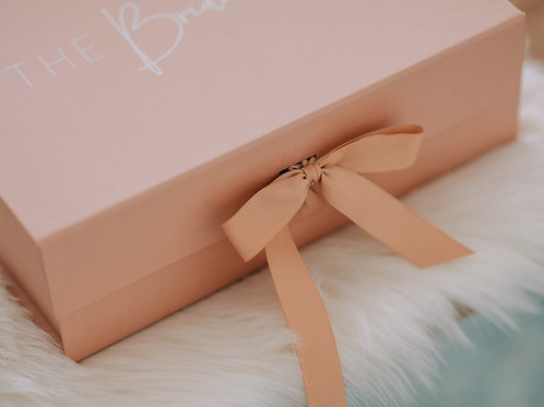 Just a pink box - empty