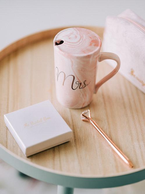 MRS. Mok - Marble pink