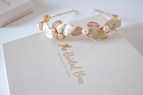 Bridal tiara - Opal