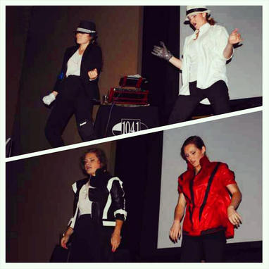 Our Michael Jackson performance took 1st place in the Lip-Sync Battle at The Roula & Ryan Live Show!