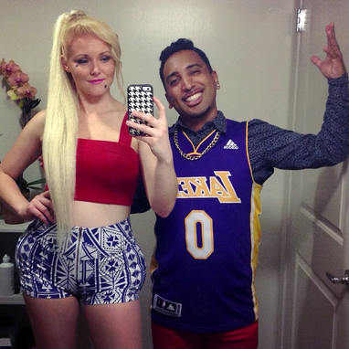 ...so I could be her for Halloween! Iggy Azalea & Nick Young 2014