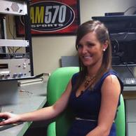 Working on my web show for FOX Sports Radio