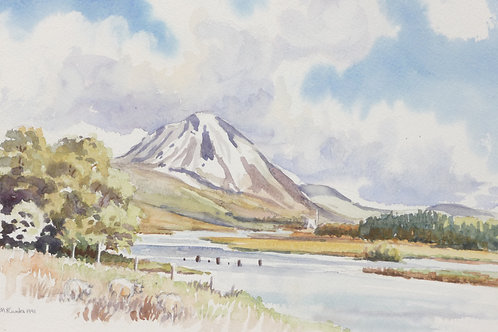 Mount Errigal, County Donegal, 1991