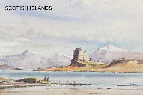 Duart Castle on the Isle of Mull, 1983