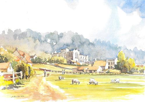 Rievaulx Abbey near Helmsley, 1995