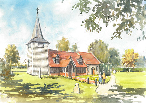 St. Andrews Church, near Chipping Ongar, 2016