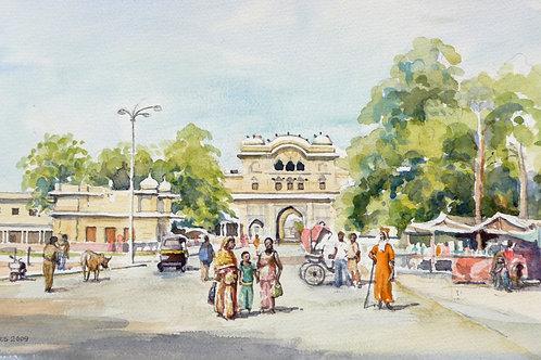Palace Square, Jaipur, 2009