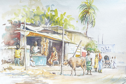 Street Butchers in Chittagong, 2015