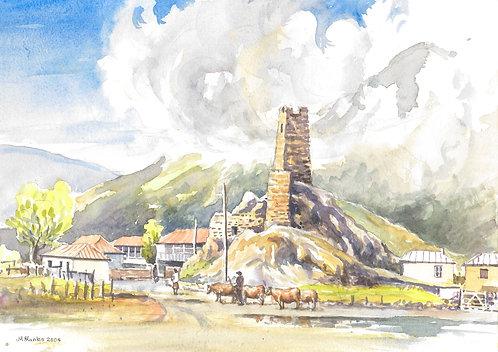Sno Fortress, Kazbegi, 2004