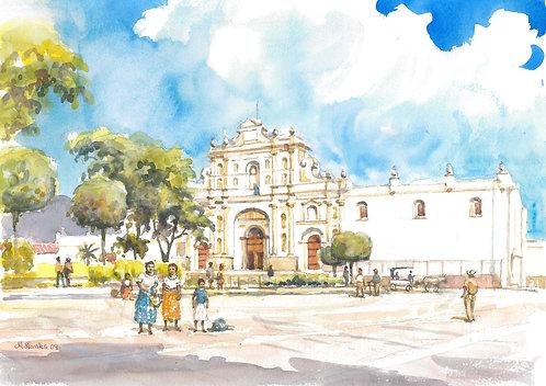 Antigua Guatemala Cathedral in Antigua, 2009