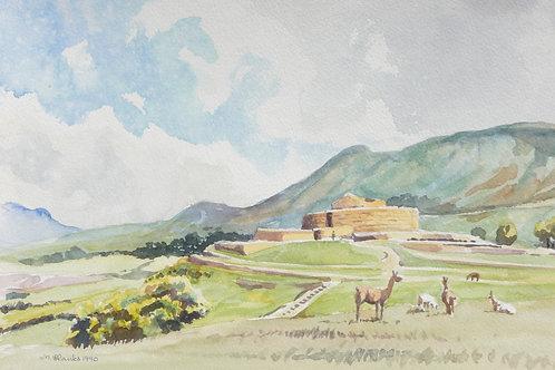 Inca Ruins at Incapirca, 1990