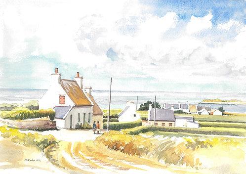 Isle of Batz, Brittany, 1992