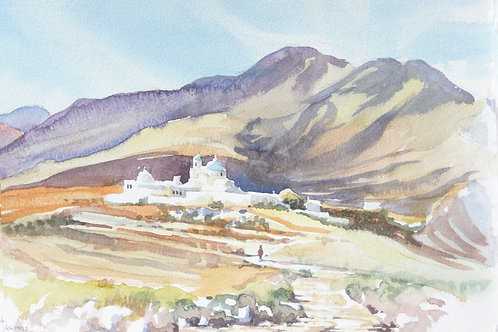 Monastery on Anafi Island, 1995