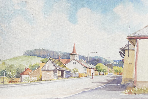 Typical small town, 1989