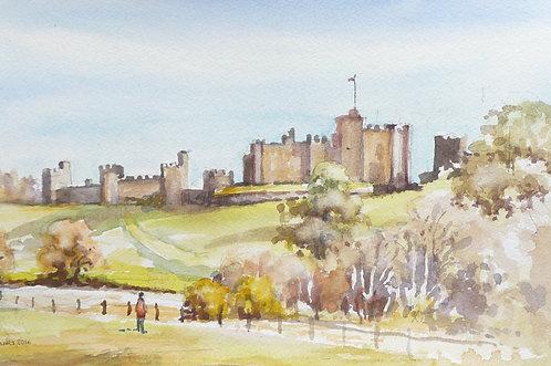 Alnwick Castle, Northumberland, 2016