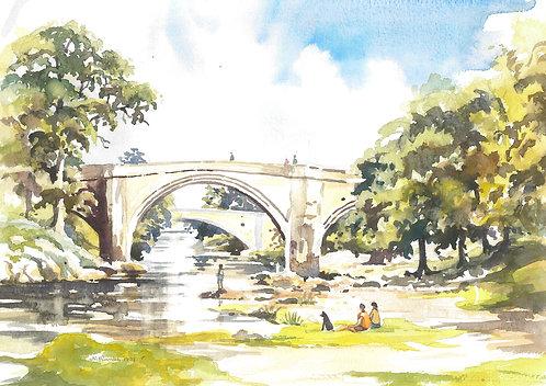 Devil's Bridge in Kirkby Lonsdale, 1999