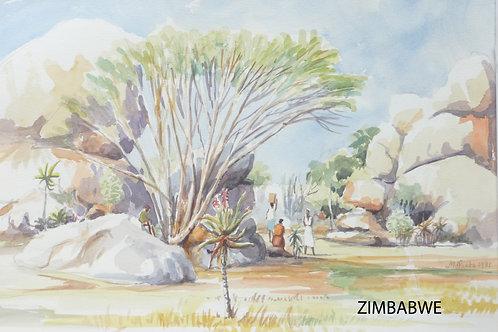Countryside near Harare, 1981