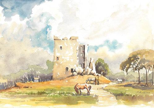 Arnside Tower, Cumbria, 1978