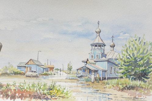 Small church at Severodvinsk
