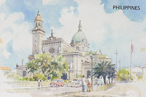Manila Cathedral, 2008