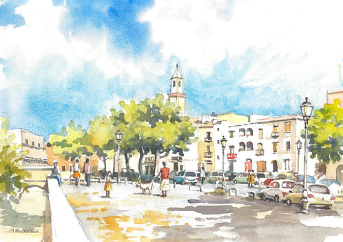 Part of Bari old town, 2012
