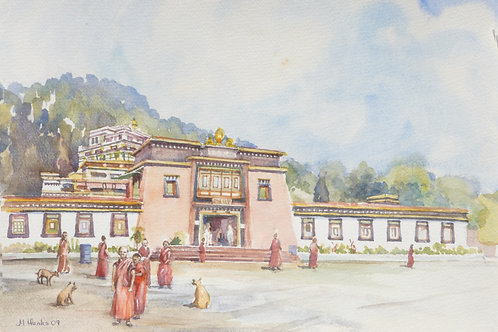 Rumtek Monastery, 2009