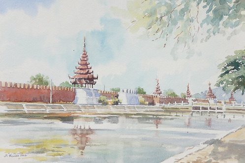The Mandalay Palace, 1994