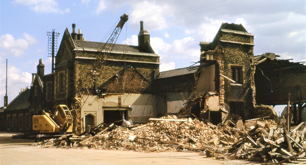 22nd April 1972 Demolition of Peterboro
