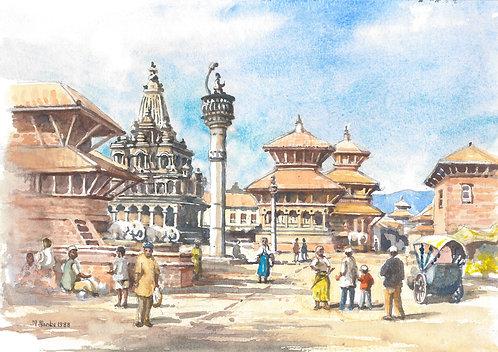 Patan Durbar Square, 1968