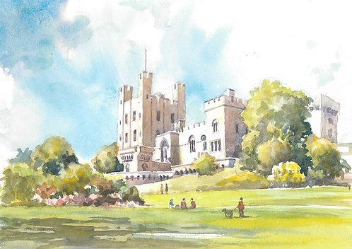 Penrhyn Castle near Bangor, 1996