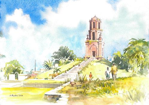Bantay Bell Tower near Vigan, 2008