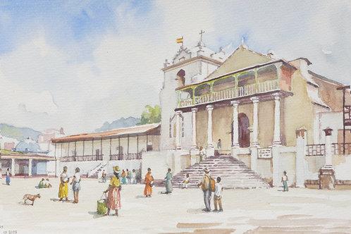 Iglesia Parroquial Santiago Apostol in Santiago Atitlán, 2009