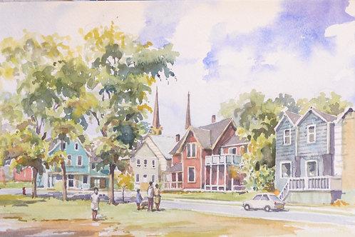 Charlottetown, Prince Edward Island, 1999