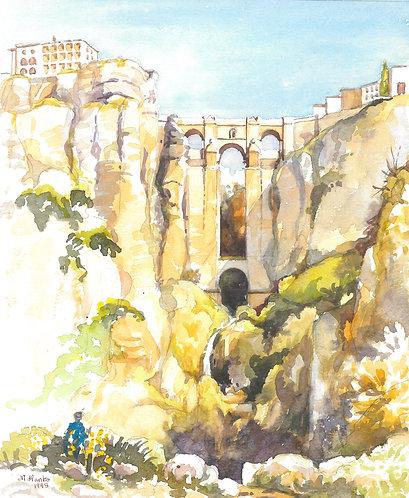 The Puente Nuevo Bridge at Ronda, 1998