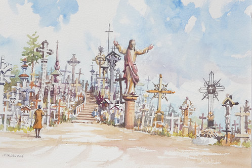 The Hill of Crosses, Siauliai, 1998