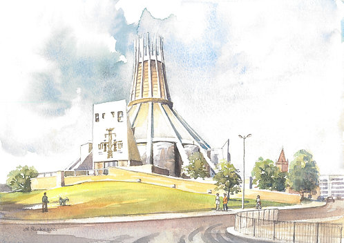 Liverpool Metropolitan Cathedral, 2001