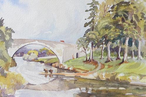 Bridge near Aldray, Sutherland, 1994