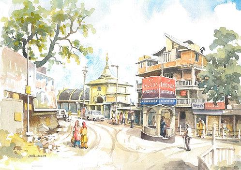 Main street Darjeeling
