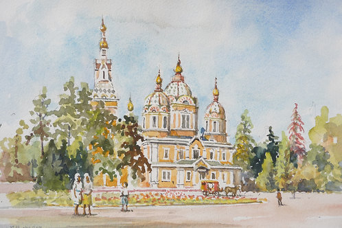 Cathedral from large Central Park, 2014