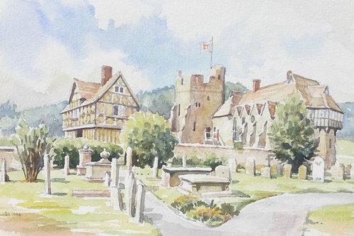 Stokesay Castle, Shropshire, 1996
