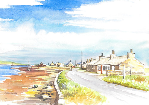 Pierowall on Westray, Orkney's, 1994