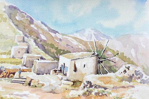 Windmills on Crete, 1994