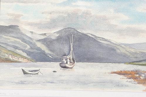 Folda Fjord near Narvik, 1962