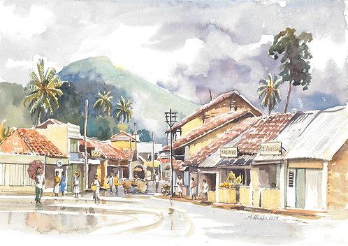 Badulla in the rain, 1979