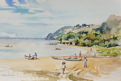 Chikoko Bay on Lake Malawi, 2000