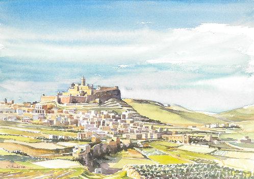 Victoria, capital of Gozo Island, 1984