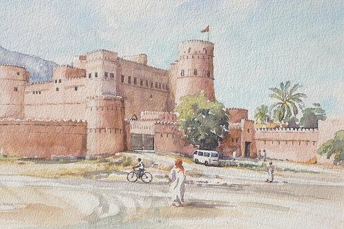 Rustaq Fort, 2002