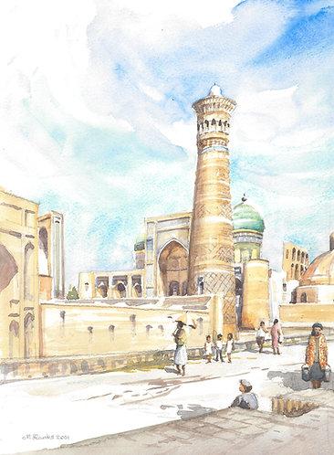Kalyan Minaret Bukhara, 2001