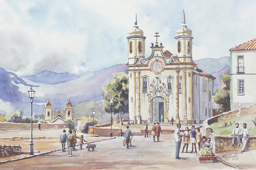 Ouro Preto, north of Rio, 1971